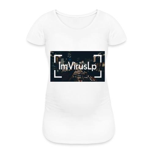 Ein ImVirusLp Banner Design Handy Hülle - Frauen Schwangerschafts-T-Shirt