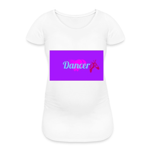 Logo_1483185851650 Dancer - Naisten äitiys-t-paita