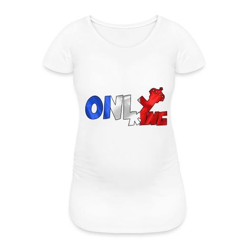 Logo ONLY KING edition francaise - T-shirt de grossesse Femme