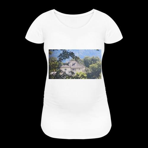 Altes Haus Vintage - Frauen Schwangerschafts-T-Shirt