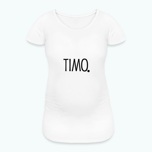Ontwerp zonder achtergrond - Vrouwen zwangerschap-T-shirt