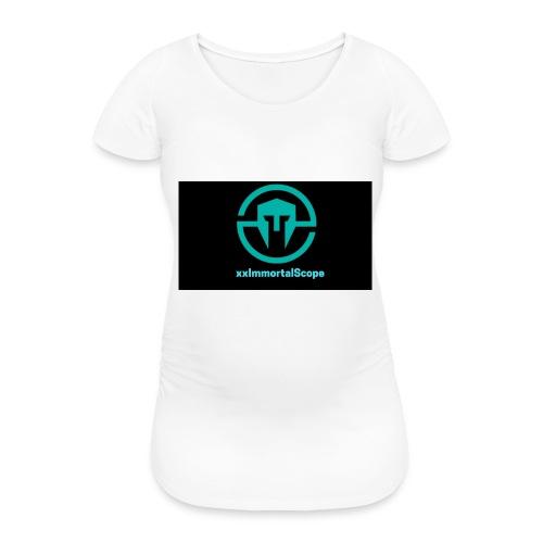 xxImmortalScope throwback - Women's Pregnancy T-Shirt