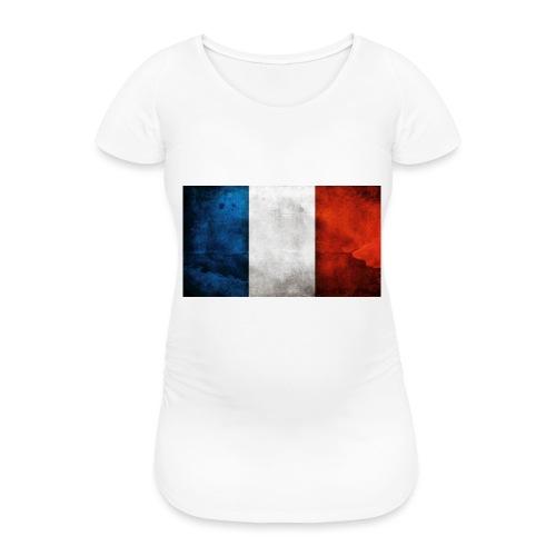 France Flag - Women's Pregnancy T-Shirt