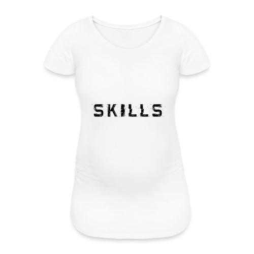 skills cloth - Maglietta gravidanza da donna
