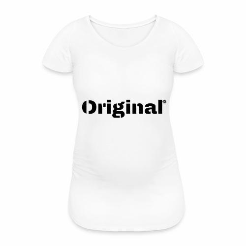 Original, by 4everDanu - Frauen Schwangerschafts-T-Shirt