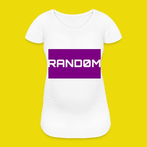 Random Logo - Women's Pregnancy T-Shirt