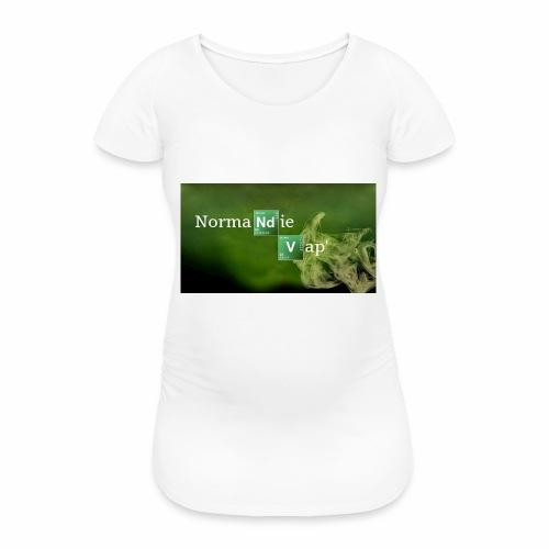 Normandie Vap' - T-shirt de grossesse Femme