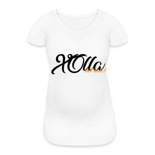 [Hoodie] X0lla-Spruch - Frauen Schwangerschafts-T-Shirt