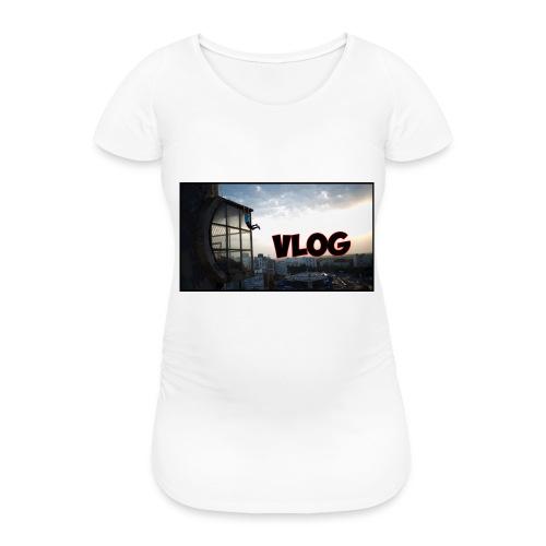 Vlog - Women's Pregnancy T-Shirt