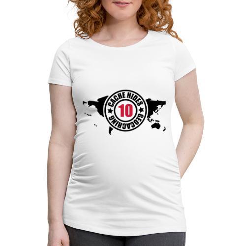 cache hides - 10 - Frauen Schwangerschafts-T-Shirt