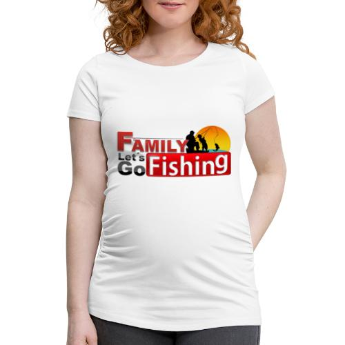 FAMILY LET´S GO FISHING FONDO - Camiseta premamá