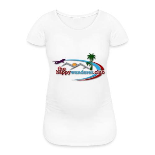 The Happy Wanderer Club Merchandise - Women's Pregnancy T-Shirt