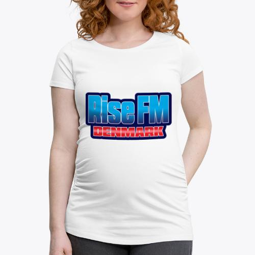 Rise FM Denmark Text Only Logo - Women's Pregnancy T-Shirt