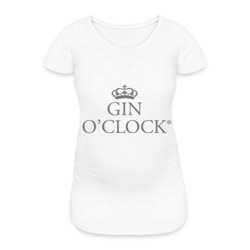 Gin O'Clock - Women's Pregnancy T-Shirt
