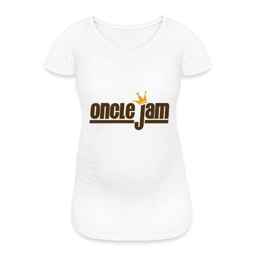Oncle Jam horizontal brun - T-shirt de grossesse Femme