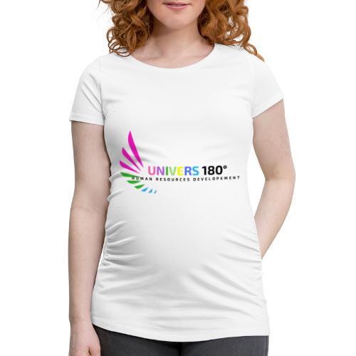Univers 180° - Frauen Schwangerschafts-T-Shirt