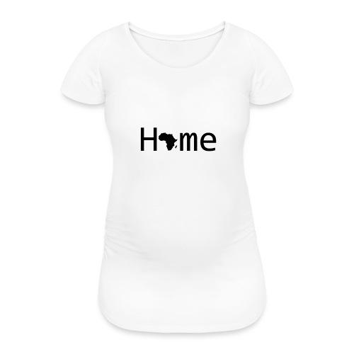 Sweet Home Africa - Frauen Schwangerschafts-T-Shirt