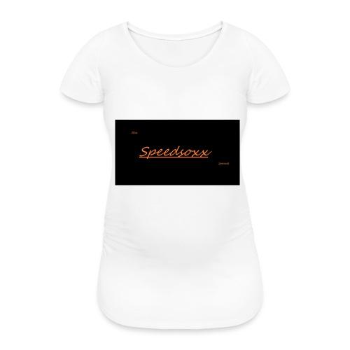 SPEEDSOXX - Frauen Schwangerschafts-T-Shirt