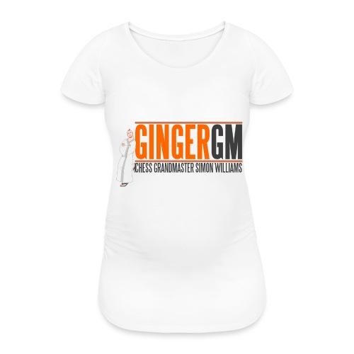 Ginger GM Logo - Women's Pregnancy T-Shirt