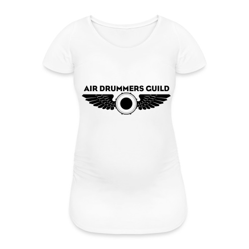 ADG Drum'n'Wings Emblem - Women's Pregnancy T-Shirt
