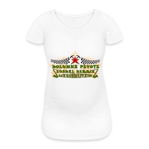 kolumna_peyote_euskadi - Camiseta premamá