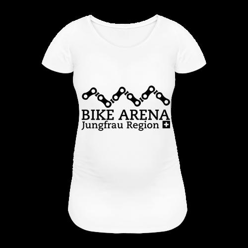 Bike Arena Black Rider - Frauen Schwangerschafts-T-Shirt