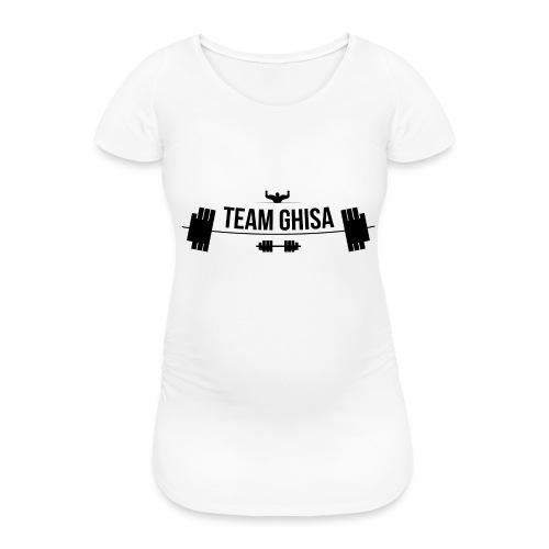 TEAMGHISALOGO - Maglietta gravidanza da donna