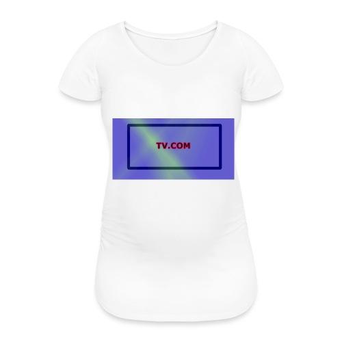TV.COM - Naisten äitiys-t-paita
