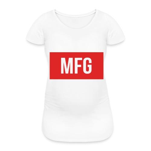 MFG on Youtube Logo - Women's Pregnancy T-Shirt