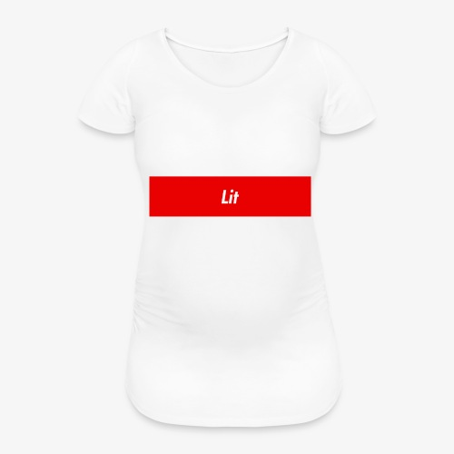 Lit - Gravid-T-shirt dam