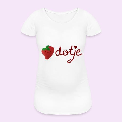Baby aardbei Dotje - cute - Vrouwen zwangerschap-T-shirt