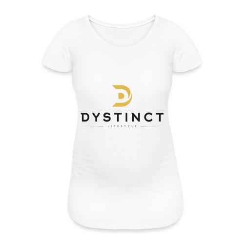 Dystinct Large Logo - Women's Pregnancy T-Shirt
