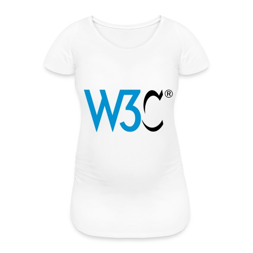 w3c - Women's Pregnancy T-Shirt