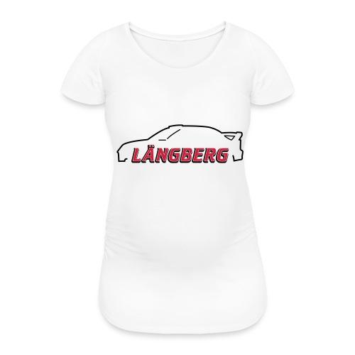 logotype Laengberg - Gravid-T-shirt dam