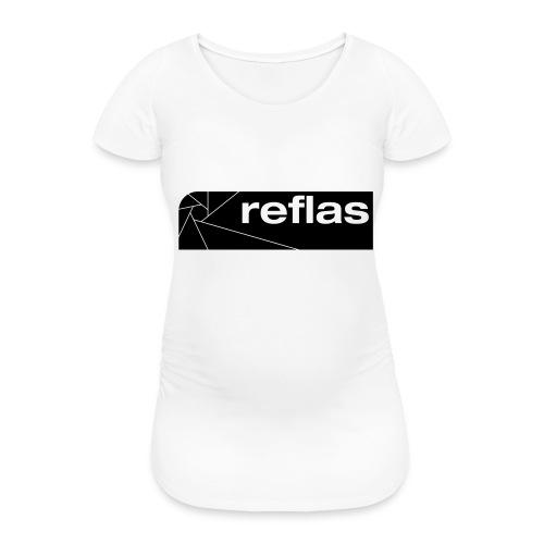 Reflas Clothing Black/Gray - Maglietta gravidanza da donna