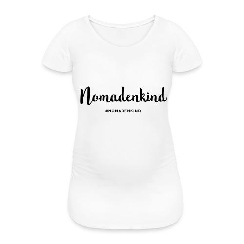 Nomadenkind by Solonomade - Frauen Schwangerschafts-T-Shirt