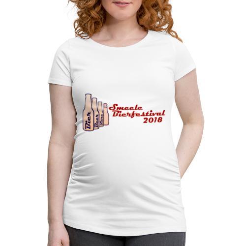 Smeele Bierfestival 2018 - Vrouwen zwangerschap-T-shirt