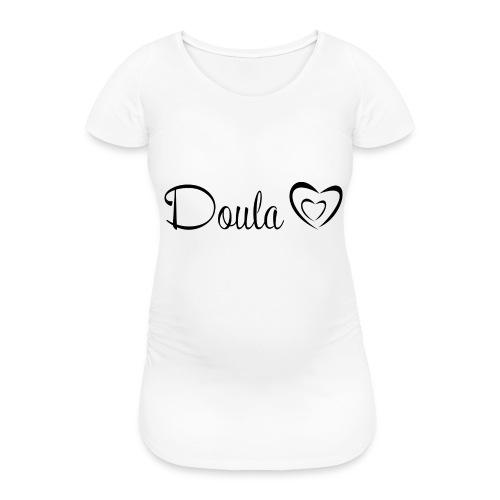 doula sydämet - Naisten äitiys-t-paita