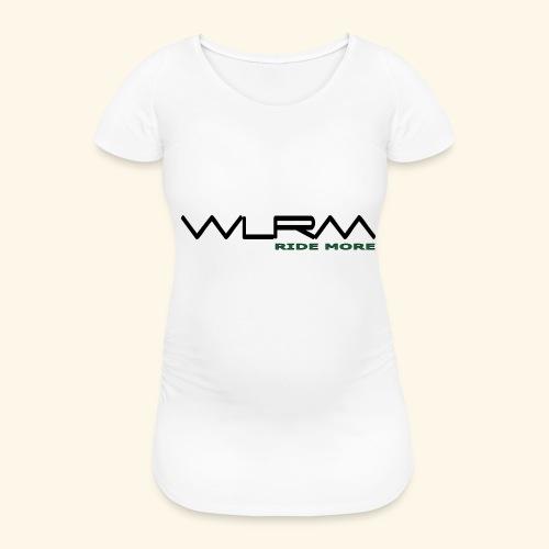 WLRM Schriftzug black png - Frauen Schwangerschafts-T-Shirt