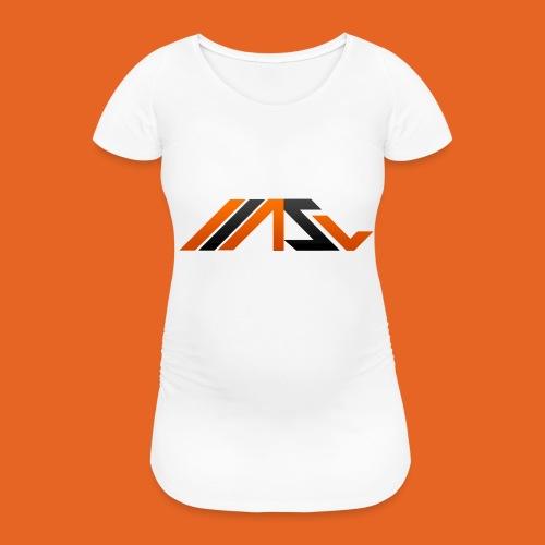 ASV New Look - Frauen Schwangerschafts-T-Shirt