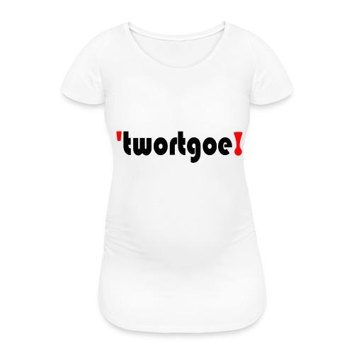 logo - Vrouwen zwangerschap-T-shirt