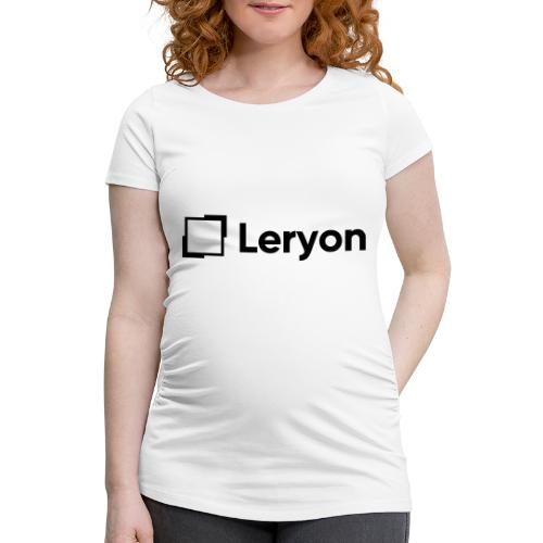Leryon Text Brand - Women's Pregnancy T-Shirt