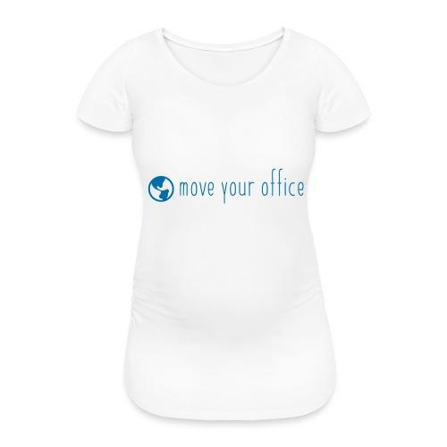 Das offizielle move your office Logo-Shirt - Frauen Schwangerschafts-T-Shirt