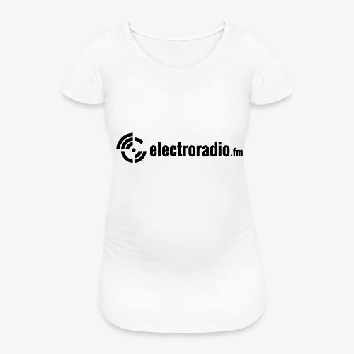 electroradio.fm - Frauen Schwangerschafts-T-Shirt