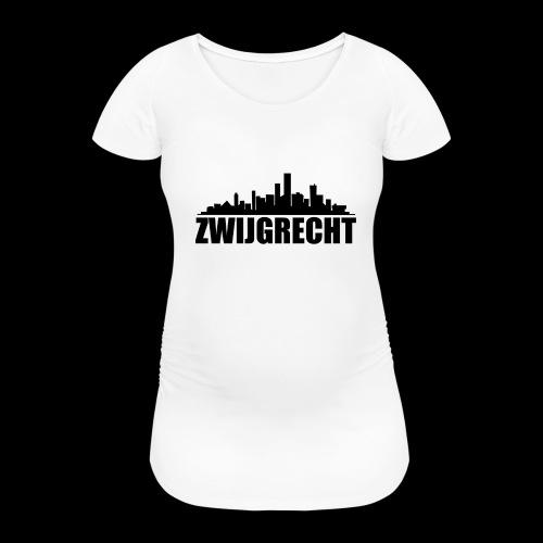 Zwijgrecht - Vrouwen zwangerschap-T-shirt
