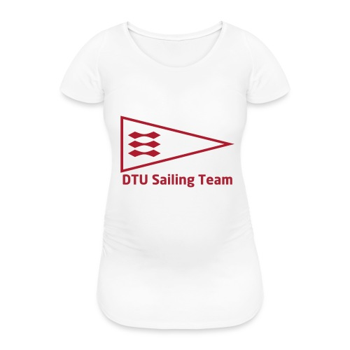 DTU Sailing Team Official Workout Weare - Women's Pregnancy T-Shirt
