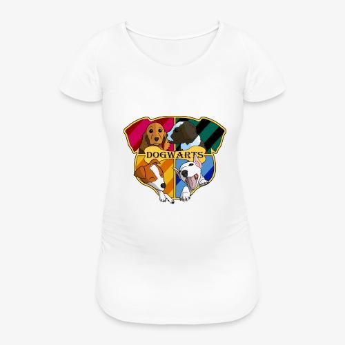 Dogwarts Logo - Women's Pregnancy T-Shirt