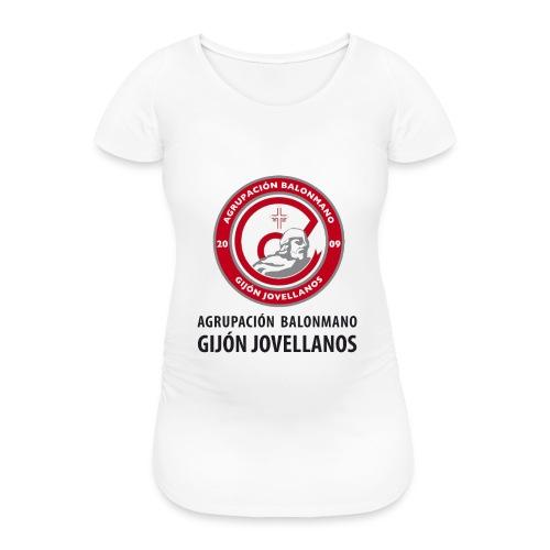 Escudo Gijón Jovellanos - Camiseta premamá