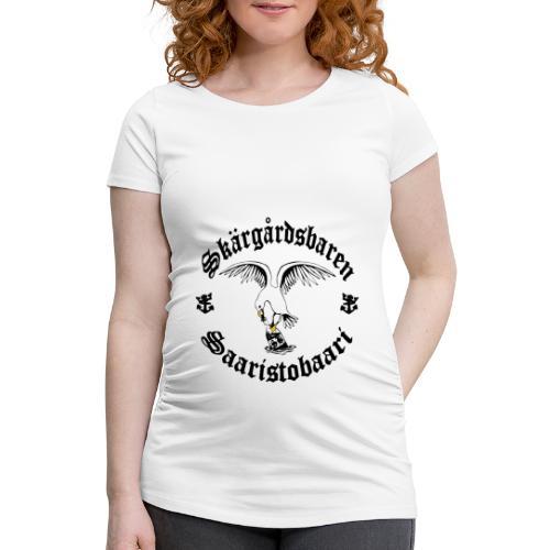 Black logo - Naisten äitiys-t-paita