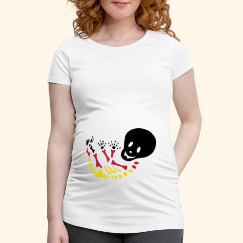 BabySkelett World Cup Edition - Frauen Schwangerschafts-T-Shirt